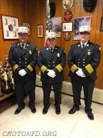 The 2018 CFD Chief Officers