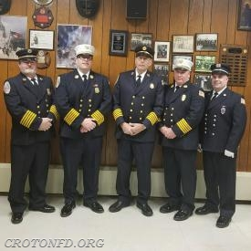 A Family Affair: DC Dominello, AC Munson, DC Munson, Chief Colombo, Captain Ferguson