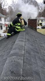Darby Avenue Chimney Fire