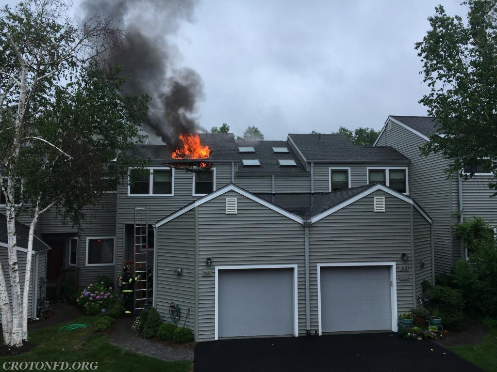 Ossining fire.